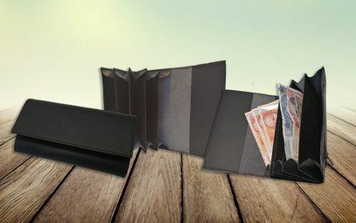 Konobarski novčanik prava koža Basic