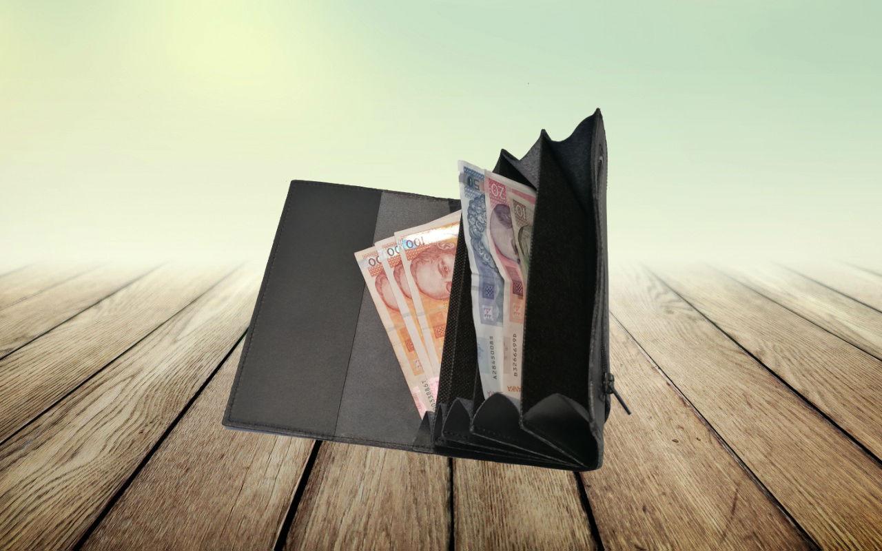 """Konobarski novčanik """"Basic"""" – Prava koža"""