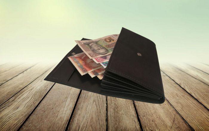 """Konobarski novčanik """"Sample"""" – umjetni materijal"""