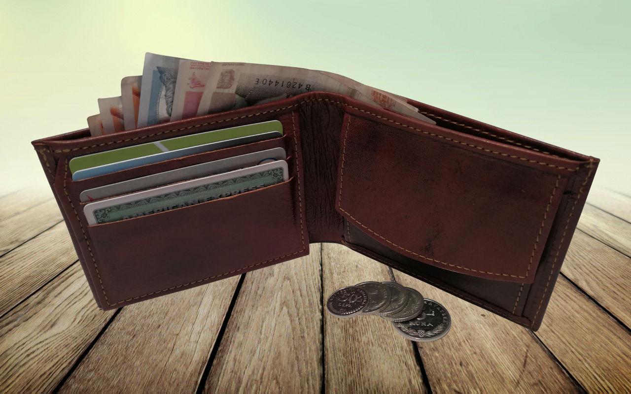 Muški kožni novčanik Avangard